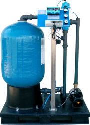 Odželezenie, filtrácia, dechlorácia a redukcia dusičnanov AQUINA