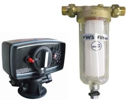 Filtre, napájacie armatúry, filtračné hmoty, kamix a príslušenstvo k úpravniam vody